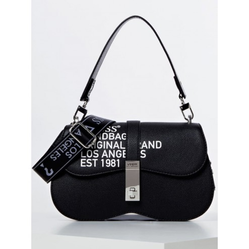 Guess HWVY7477180 Asher bag with text
