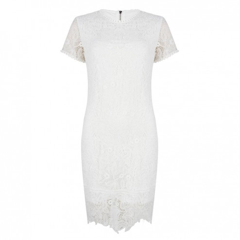 Jacky Luxury JLSS19100 white lace drets