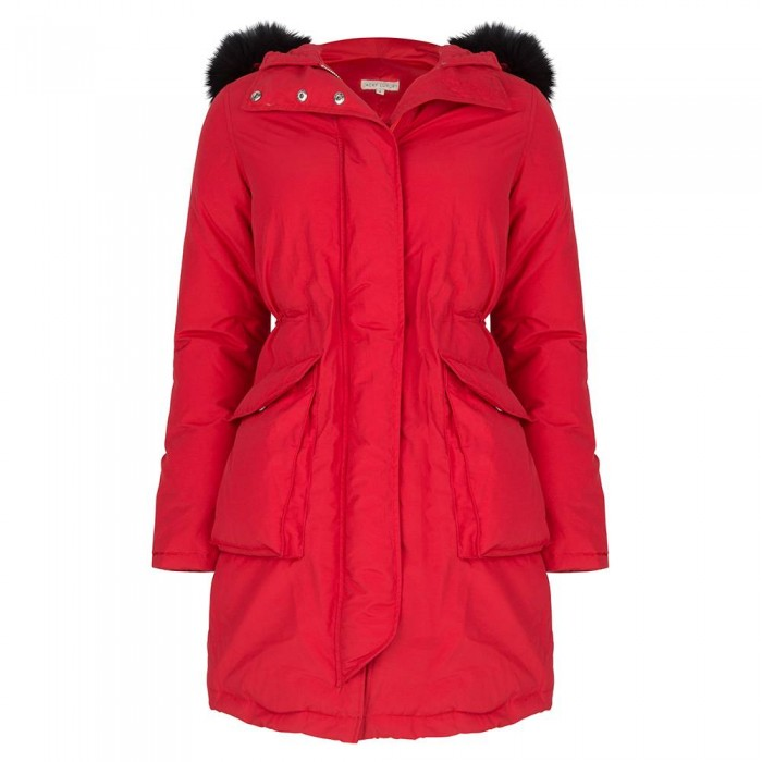 Jacky Luxury parka in red