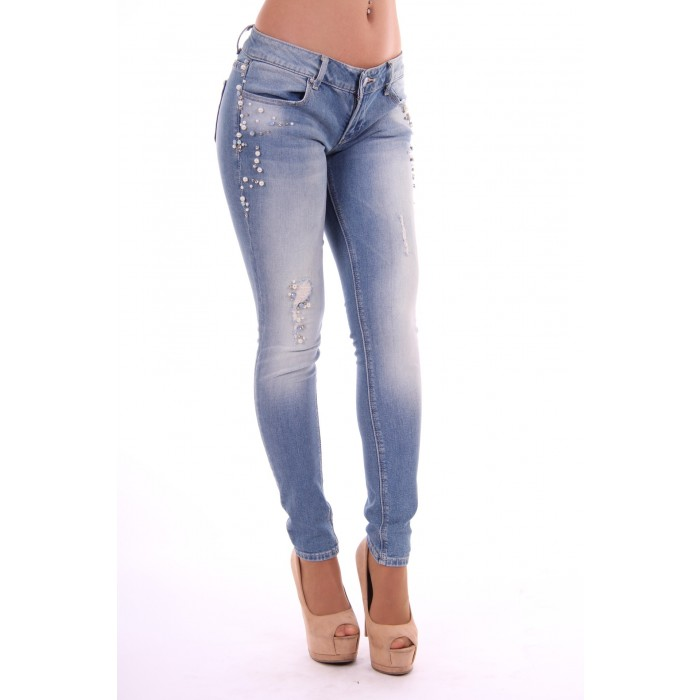 DENIM - Denim trousers Fracomina Finishline Cheap Price Professional Cheap Online Clearance Discounts Classic Cheap Price GntchzGuw