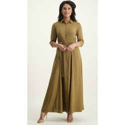 Its Given Cleo maxidress in olive
