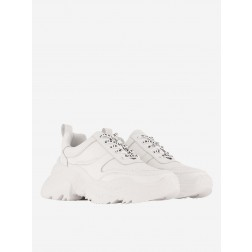 Nikkie Chunky sneaker in off-white