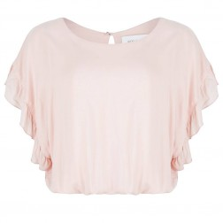 Jacky Luxury tunic top met Bandeau in pink