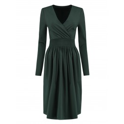 Nikkie suze dress in green - travel