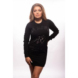 Rich! sweaterdress in zwart