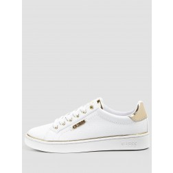 Guess Beckie sneakers in white-gold
