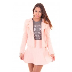 Josh V Jacklyn Jacket in nude