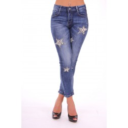 Jeans pearly stars