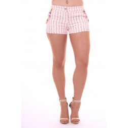 Jacky Luxury short with flower beads