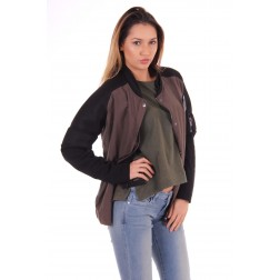 Nickelson Zindi bomber in army & black
