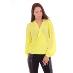 Fracomina blouse in lime