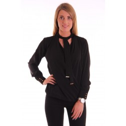 Labee Kane blouse in black