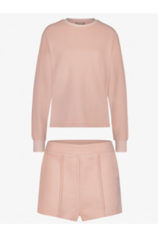 Its Given Rome/Milan lounge suit in pink