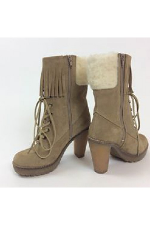 Isla ibiza boots with fur
