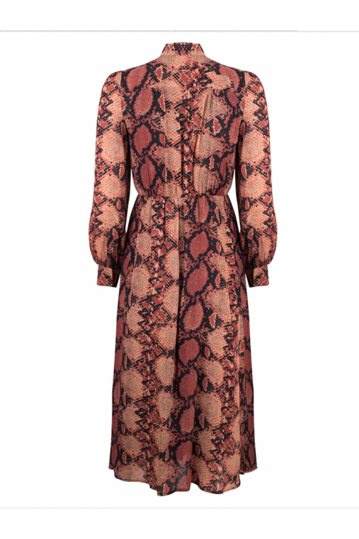 Jacky Luxury maxidress van in snakeprint