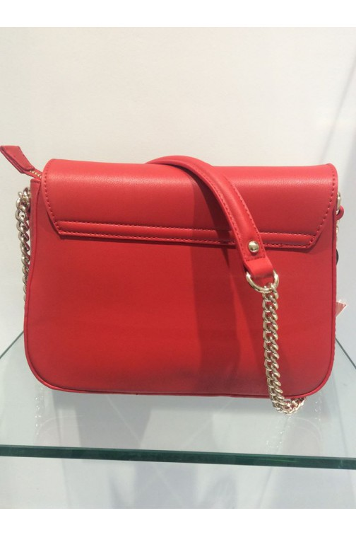 Valentino CoCo schoudertas in rood  - white heart
