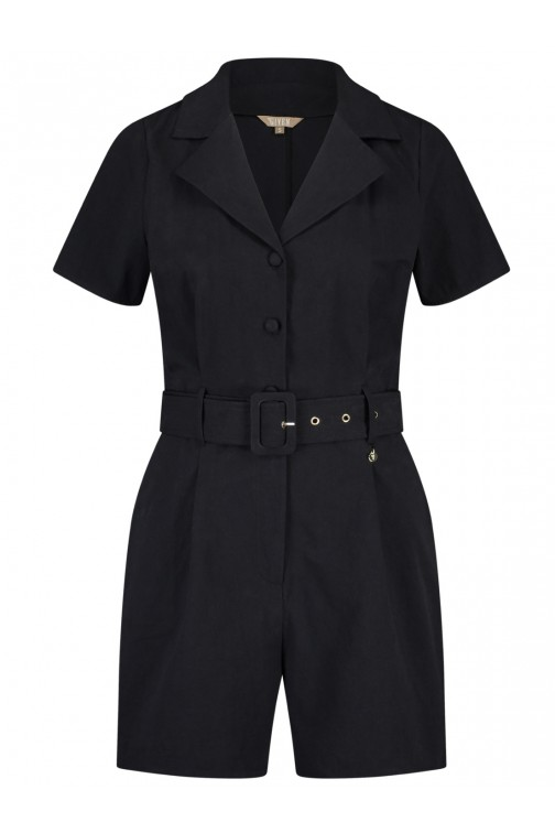 Its Given Loraine Playsuit in black