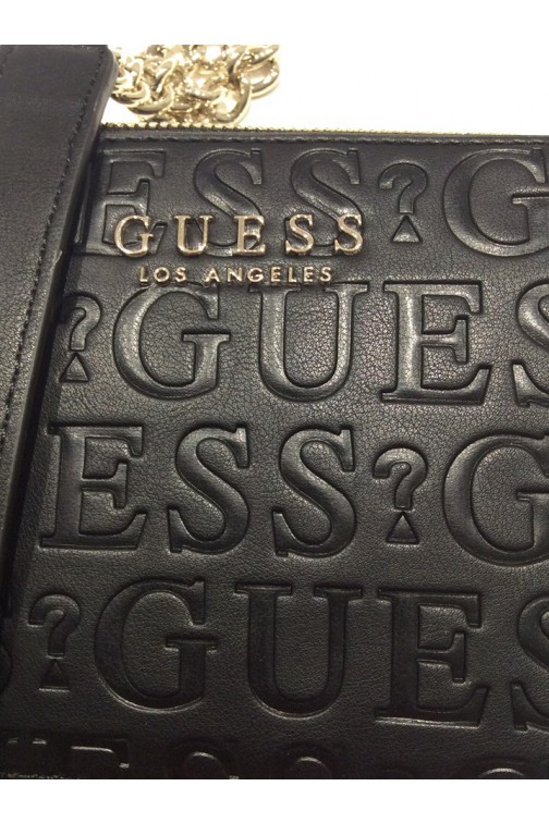 Guess Robyn crossbody bag in zwart
