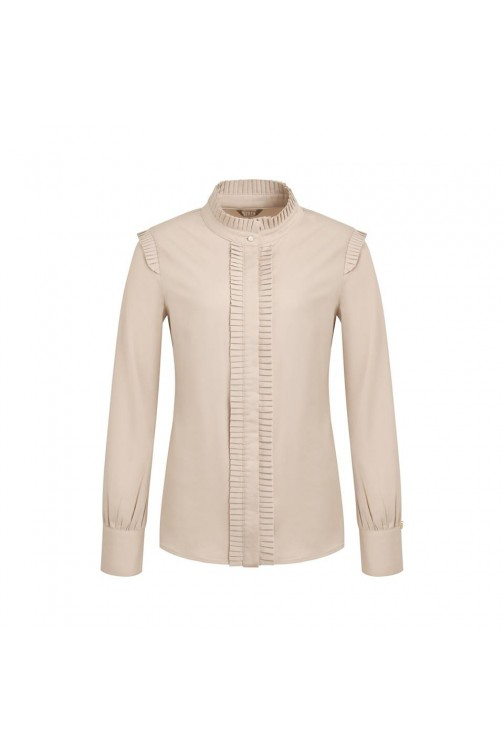 Its Given Linda blouse met ruffle