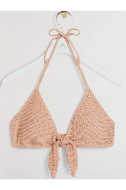 Josh V Zadie bikini top in Summer skin