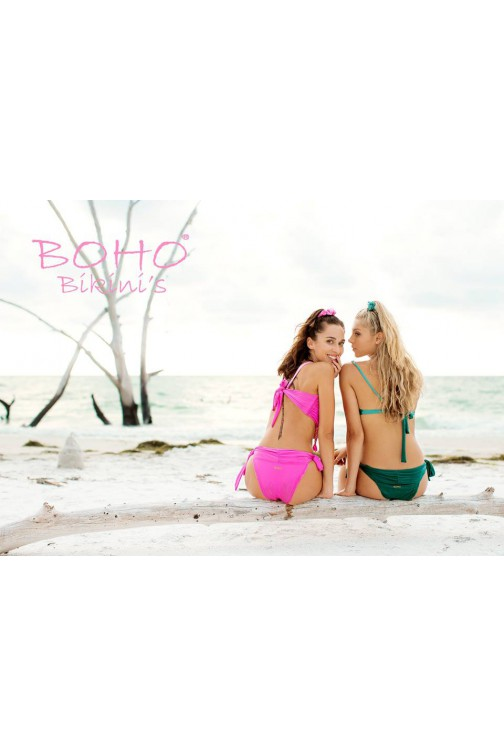 BohoBikini Fabulous bottom in rose