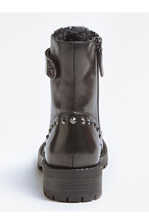 Guess boots met spikes in gun metal