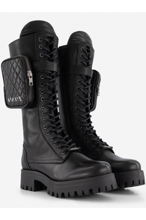 Nikkie Brandy Combat boots incl. Bag