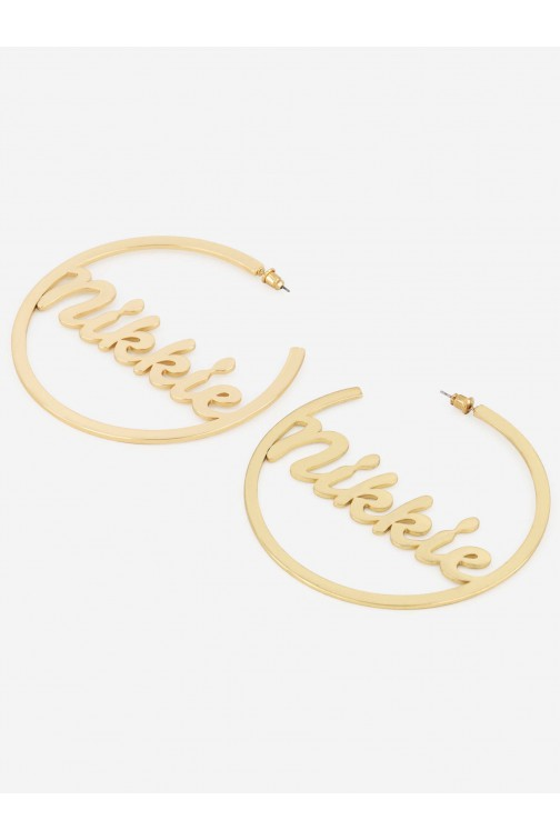 Nikkie Merrith earrings in gold