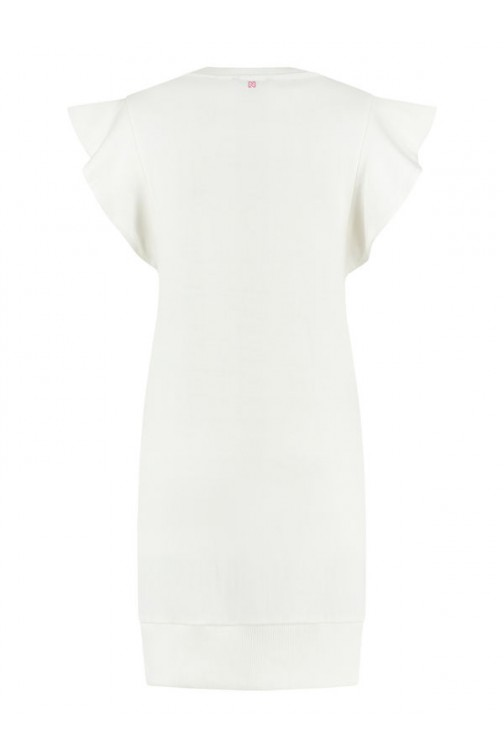 Nikkie adorable sweaterdress - off white
