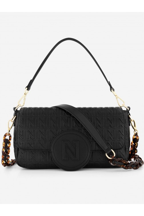 Nikkie Malon bag met allover N logo
