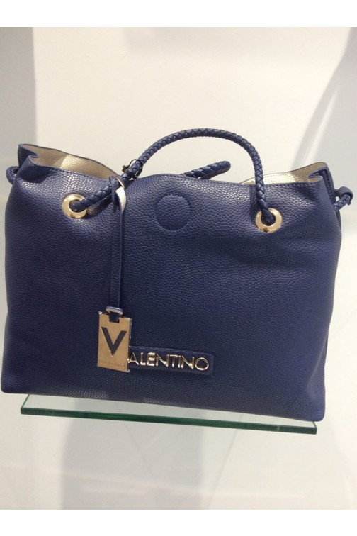 Valentino Corsair shopper in navy - reversible