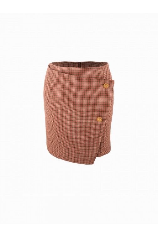 Its Given Rye skirt - geruit