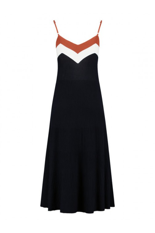 Nikkie Karin maxidress - navy