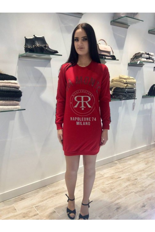 Rich! sweaterdress in rood