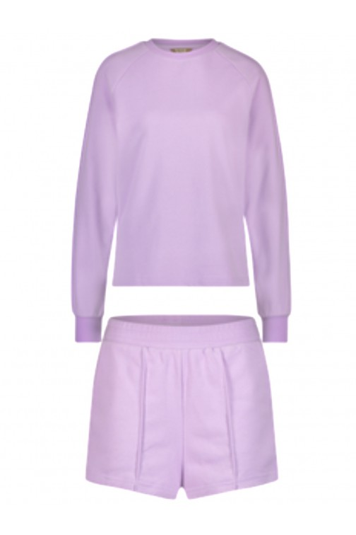 Its Given Rome/Milan lounge suit in purple
