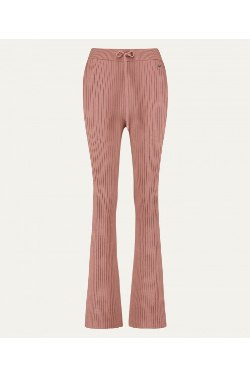 Josh V Paia pants in dark Blush
