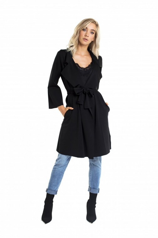 Jacky Luxury Trenchcoat met ceintuur - Travel