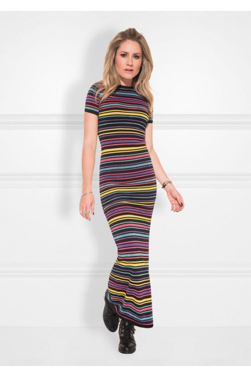 Nikkie stripe maxidress