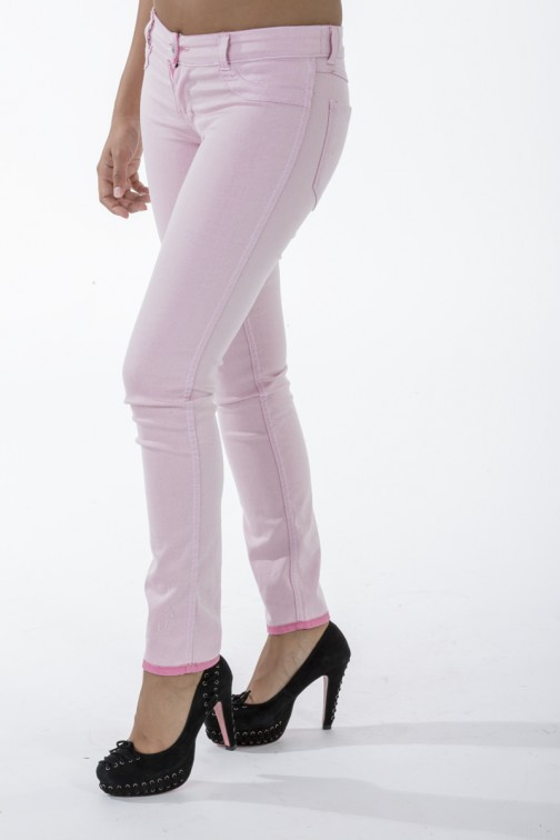 Roze reversible jeans van Sylvia's secret by SOS.