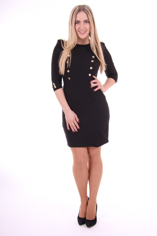Relish dress, Luvia in black