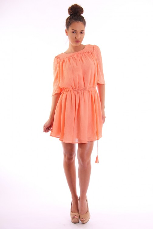 Maria Tailor dress in coral FELICIA