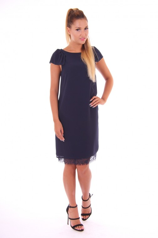 Kocca Rilman dress in navy: lace
