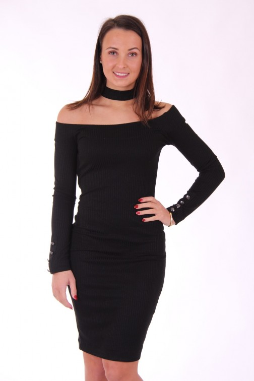 Supertrash Depa jurkje - choker dress