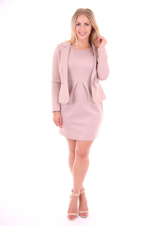 Kocca blazer in soft pink