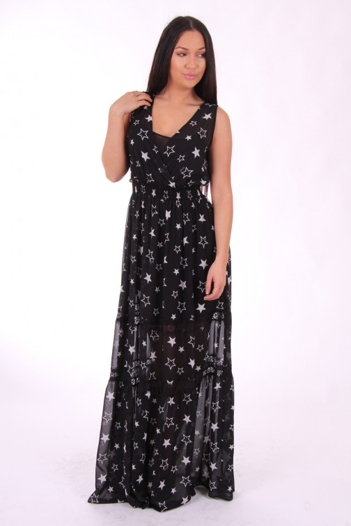 Liu Jo maxidress Stars