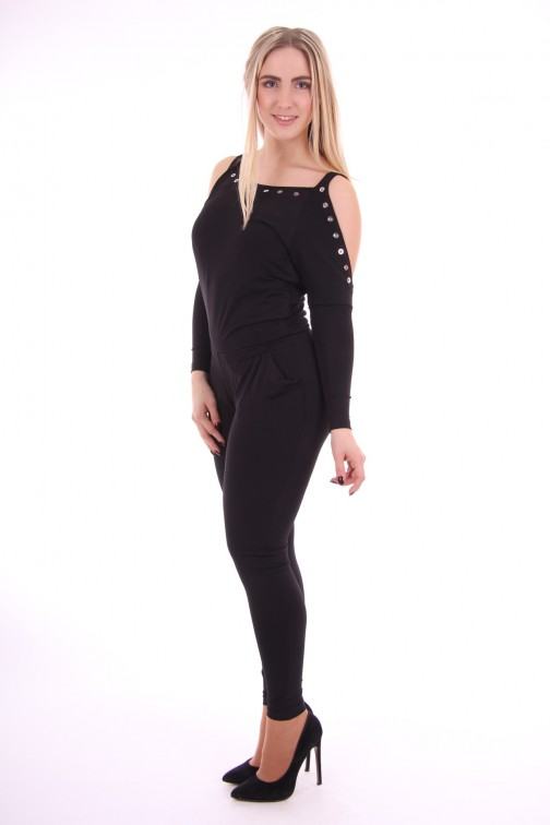 G.sel jumpsuit, Sfilata, open shoulders