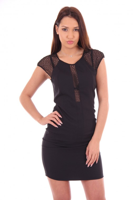 Silvian Heach Sanrocco dress with transparent details