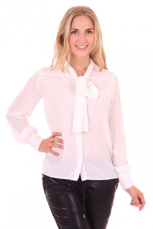 Kiims blouse in white: Thirza