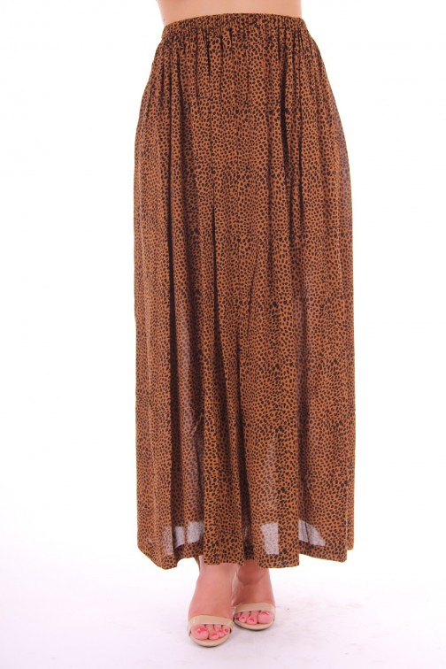 By Danie skirt dress in leopard