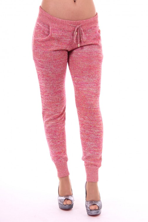 Josh V Jolyn trousers in fuchsia Missoni